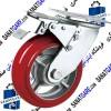 چرخ لوکس قرمز گردان ترمزدار 125