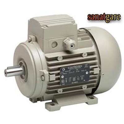 الکتروموتور الکتروژن سه فاز 0.37 کیلووات 1500 دور